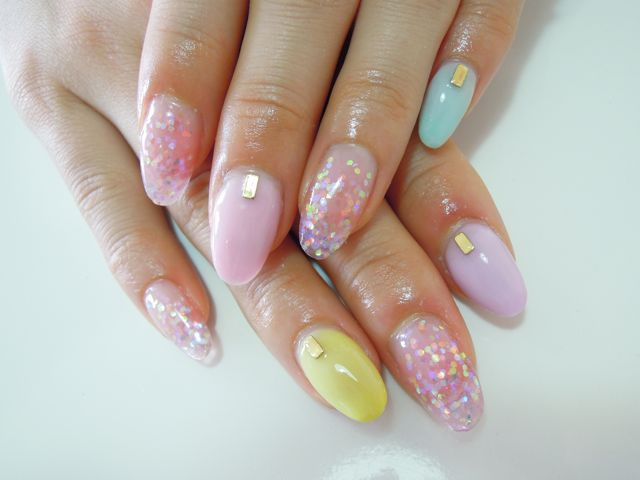 Pastel Nail_a0239065_15254014.jpg