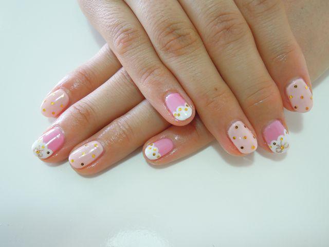 Spring Pink Nail_a0239065_15275399.jpg