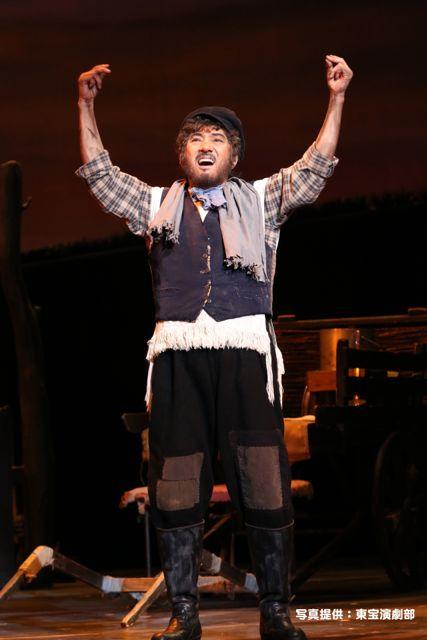 今年初観劇は『屋根の上のヴァイオリン弾き』舞台通し稽古!_e0258469_844636.jpg