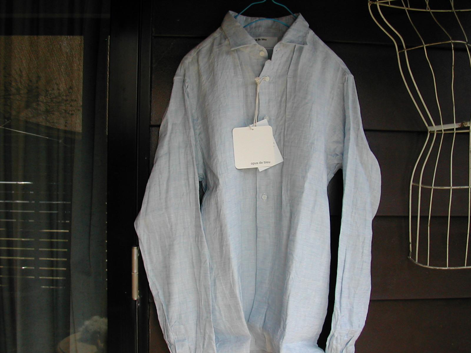 opus de bleu のシャツ_e0315178_1716326.jpg