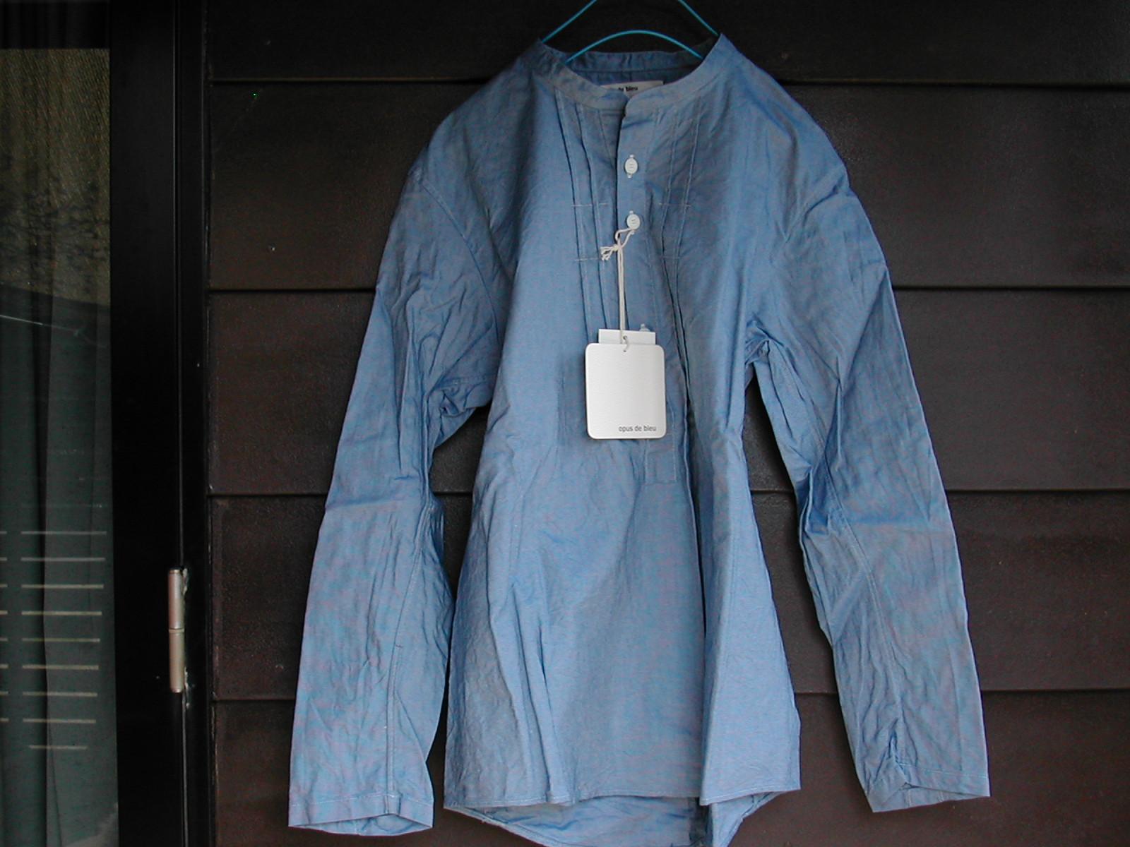 opus de bleu のシャツ_e0315178_17165537.jpg