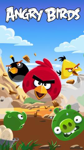 累計10億ダウンロードされた超人気ゲームアプリ「Angry Birds」が無料になってる!!_d0174998_1013177.jpg
