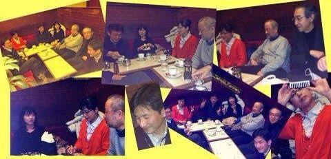 ドイツの音大時代の同窓会 in 新宿_a0047200_2049520.jpg