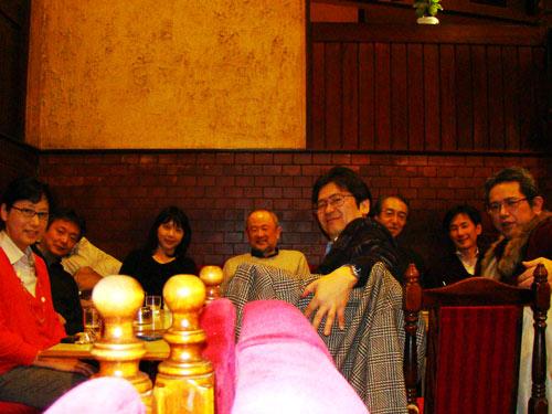 ドイツの音大時代の同窓会 in 新宿_a0047200_2050194.jpg