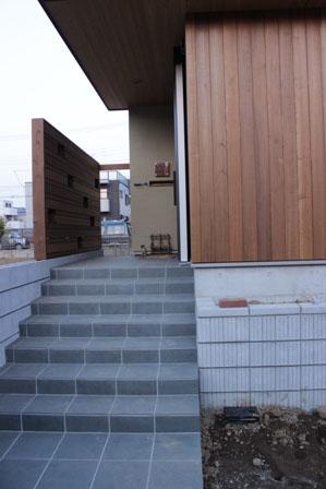 長期優良&そよ風「市川の家」外構工事の様子_f0170331_1346202.jpg