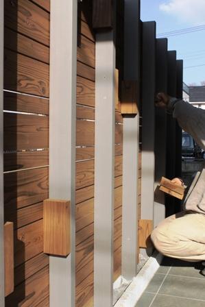 長期優良&そよ風「市川の家」外構工事の様子_f0170331_13471679.jpg