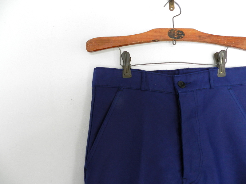 French mole skin pants ink blue squat version_f0226051_12302325.jpg