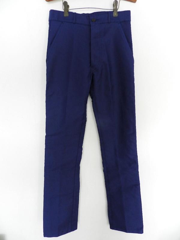 French mole skin pants ink blue squat version_f0226051_123059.jpg