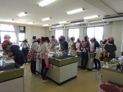 元気な中高生と一緒にご飯とお味噌汁を作りました!_b0252363_16343039.jpg