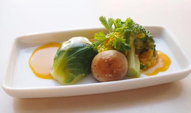 春野菜の黄身がけ_e0148373_10405257.jpg