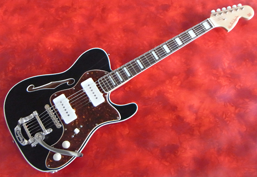 「Satin BlackのHollow T with Bigsby 2本目」が完成~!_e0053731_1602080.jpg