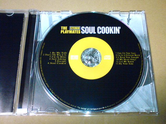 本日到着CD  〜 Soul Cookin\' / The Playmates_c0104445_2256218.jpg