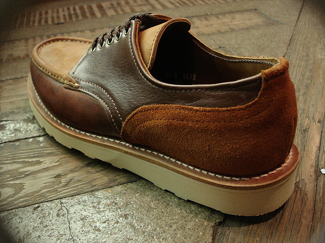 "NEW : RUSSELL MOCCASIN CO. [""PREMIER\"" COUNTRY OXFORD]&[FISHING OXFORD / Chromexell ] !!_a0132147_410323.jpg"