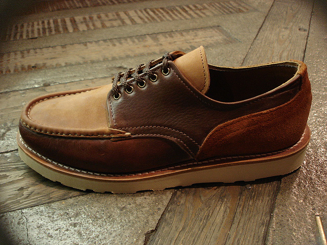 "NEW : RUSSELL MOCCASIN CO. [""PREMIER\"" COUNTRY OXFORD]&[FISHING OXFORD / Chromexell ] !!_a0132147_410363.jpg"