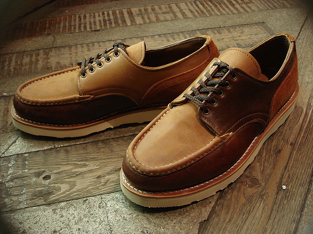 "NEW : RUSSELL MOCCASIN CO. [""PREMIER\"" COUNTRY OXFORD]&[FISHING OXFORD / Chromexell ] !!_a0132147_4105212.jpg"
