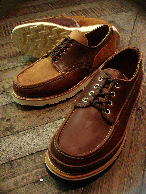 "NEW : RUSSELL MOCCASIN CO. [""PREMIER\"" COUNTRY OXFORD]&[FISHING OXFORD / Chromexell ] !!_a0132147_41165.jpg"