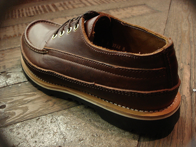 "NEW : RUSSELL MOCCASIN CO. [""PREMIER\"" COUNTRY OXFORD]&[FISHING OXFORD / Chromexell ] !!_a0132147_484597.jpg"