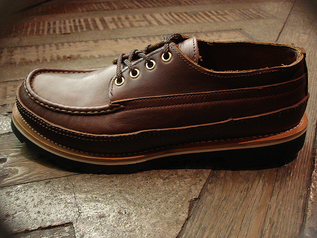 "NEW : RUSSELL MOCCASIN CO. [""PREMIER\"" COUNTRY OXFORD]&[FISHING OXFORD / Chromexell ] !!_a0132147_49174.jpg"