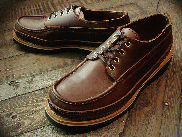 "NEW : RUSSELL MOCCASIN CO. [""PREMIER\"" COUNTRY OXFORD]&[FISHING OXFORD / Chromexell ] !!_a0132147_492944.jpg"