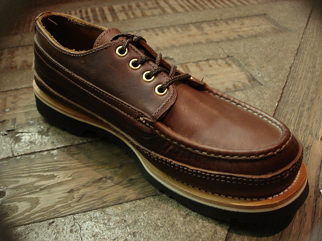 "NEW : RUSSELL MOCCASIN CO. [""PREMIER\"" COUNTRY OXFORD]&[FISHING OXFORD / Chromexell ] !!_a0132147_49332.jpg"