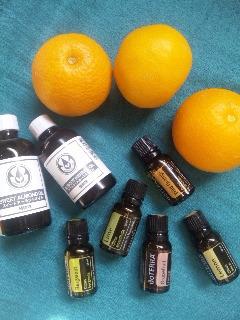 春のアロマレッスンは柑橘系の香りがいっぱい。_f0180576_1234508.jpg
