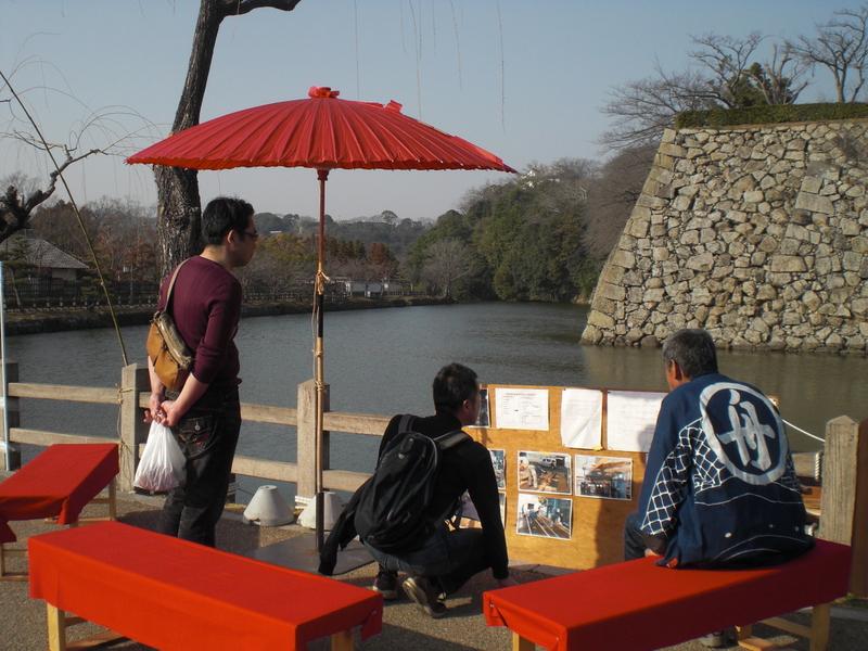 姫路城のお濠に和船 その1 船大工さんに聞いてみた_c0013687_8363526.jpg