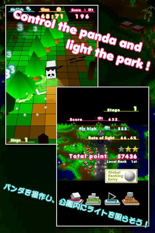 可愛いパンダで明かりを灯そう!ドタバタアクション系iPhoneアプリ「マイクロパンダ」(無料)_d0174998_16523088.jpg