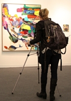 NY最大の美術展覧会「アーモリー・ショー」 The Armory Show(会場の雰囲気編)_b0007805_6414389.jpg