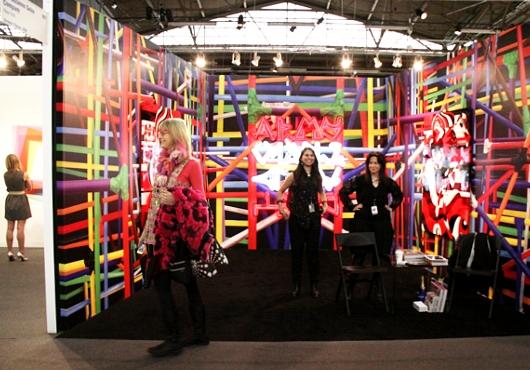 NY最大の美術展覧会「アーモリー・ショー」 The Armory Show(会場の雰囲気編)_b0007805_642188.jpg