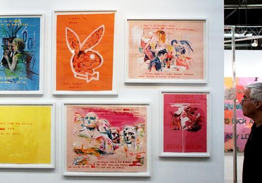 NY最大のアートフェア、アーモリー・ショーで気になった作品_b0007805_8595830.jpg