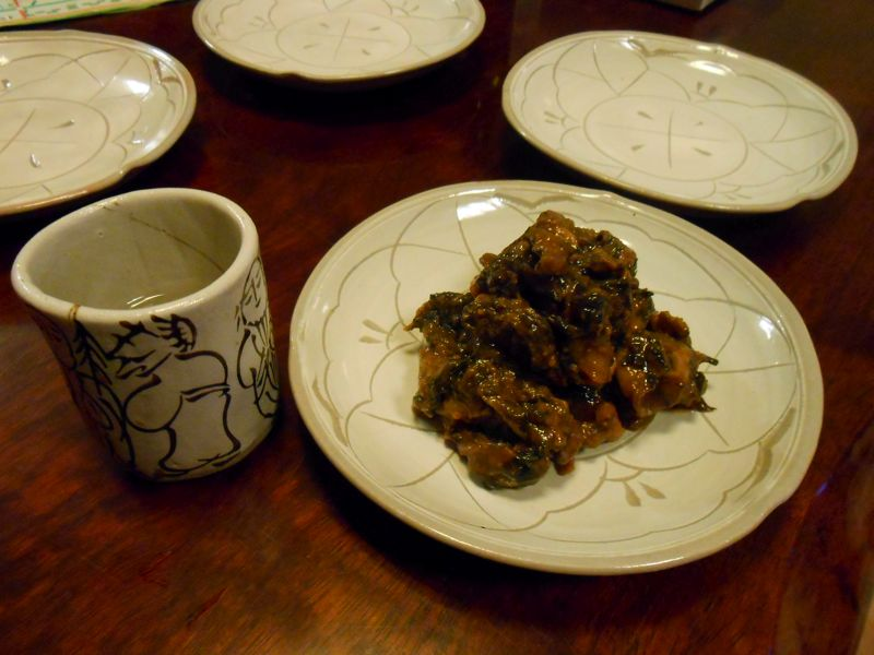 お酒にもご飯にも合います。のび丸「牡蠣味噌」_a0095931_1534444.jpg