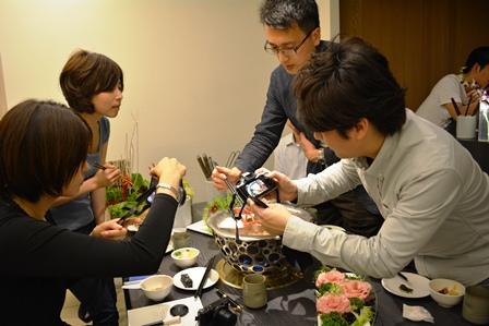 食在有趣 台湾、美食めぐり① 台北編 寬巷子QUANの花芸火鍋_b0053082_8382971.jpg