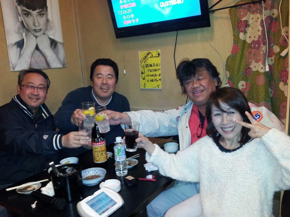 「堀川花見」のプチ前夜祭!_c0186691_15191791.jpg