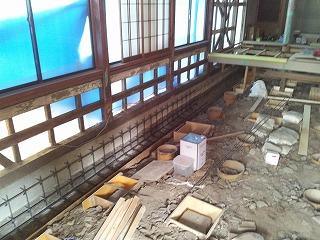工事現場だより ~お寺本堂耐震補強工事_b0230638_16233242.jpg