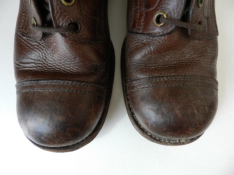 Swedish army 40's brown boots_f0226051_135576.jpg
