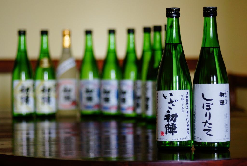 津和野の名酒「初陣」の新酒を楽しむ会!_c0180686_21233711.jpg