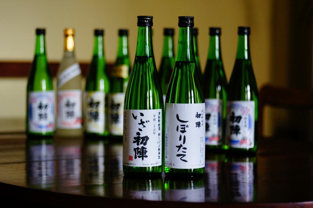 津和野の名酒「初陣」の新酒を楽しむ会!_c0180686_2124129.jpg
