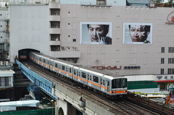 Sweet home Tokyo 75 東急渋谷駅_a0003650_2355833.jpg