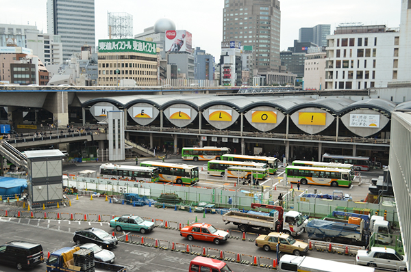 Sweet home Tokyo 75 東急渋谷駅_a0003650_23564337.jpg