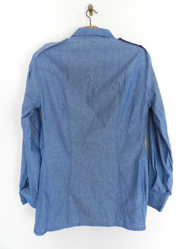Italian army chambray shirts dead stock_f0226051_1237249.jpg