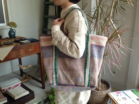 kantha 展 : kantha tote bag big_a0234452_21201470.jpg