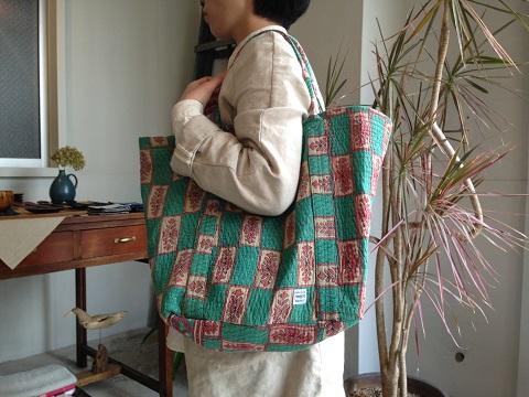 kantha 展 : kantha tote bag big_a0234452_21202479.jpg