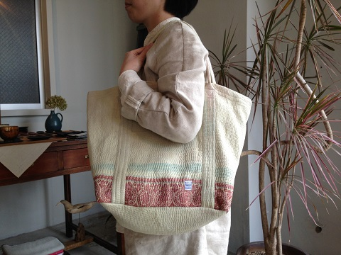 kantha 展 : kantha tote bag big_a0234452_21203243.jpg