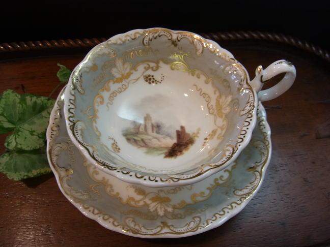 リッジウェイ・風景紋のカップ&ソーサー_d0127182_1625812.jpg