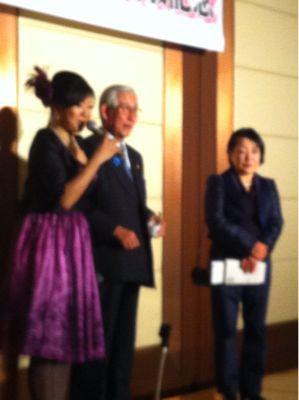 今日は出版記念パーティ in TOKYO!_e0142585_7583481.jpg
