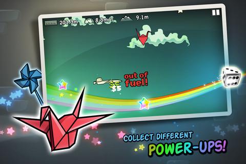 無料セール中!紙飛行機を飛ばすアクションiPhoneアプリ「Flight!」_d0174998_13544935.jpg