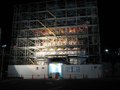 武雄温泉楼門のお色直し_f0040201_1243568.jpg