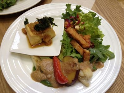 東京での食事♪( ´θ`)ノ_a0213806_22553779.jpg