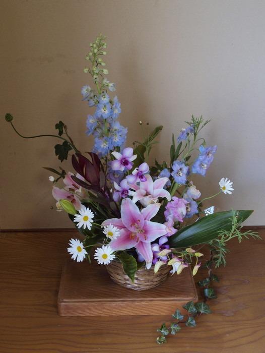 フラワーアレンジメントの花のその後_c0116915_0125085.jpg