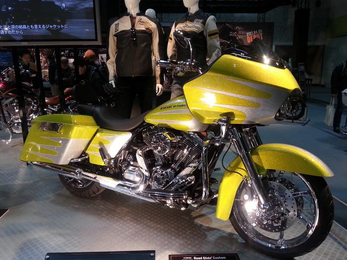 バイクと・・・大阪モーターサイクルショー_b0226322_12305696.jpg